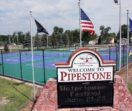 pipestone park sign